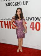 Danica McKellar - This is 40 premiere in Los Angeles 12/12/12