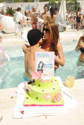 Audrina Patridge in bikini celebrates 25th Birthday At Liquid Pool Lounge At Aria - Hot Celebs Home
