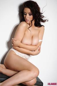 Kelly Andrews - Strips from her white bodysuit b42pkrluh4.jpg