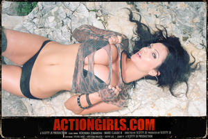 Дениз Милани, фото 3928. Denise Milani ActionGirls.com Grindhouse Vol. 3, foto 3928