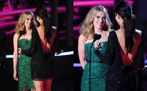 Scarlett Johansson and Sandra Bullock-2010 MTV Movie Awards Collage X1