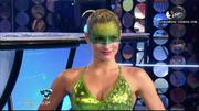 Argentina Dancer in green bikini