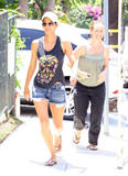 Halle Berry @ her Daughter's School in LA | July 25 | 39 leggy pics