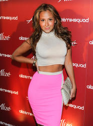 Эдриэнн Байлон, фото 17. Adrienne Bailon attends the Alize Mix Squad debut party at the Penthouse at Hotel Rivington on June 21, 2011 in New York City, photo 17